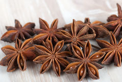 Star anise. Chinese anise, badian, Illicium verum Stock Photography