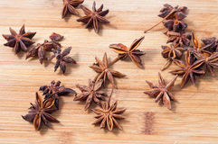 Star anise Royalty Free Stock Photography