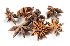 Star anise high angle Stock Photo