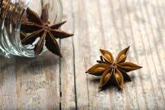 Star Anise (Illicium verum) Stock Image