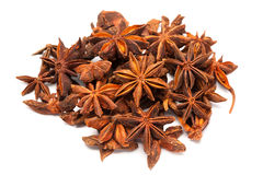Star anise or Illicium verum Stock Photos