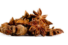 Star Anise Isolated Stock Image