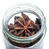 Star Anise in a jar Stock Photo