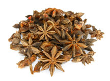 Star anise over white Stock Image