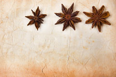 Star Anise Paper Royalty Free Stock Photos