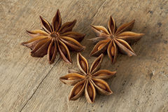 Star anise seeds Stock Image