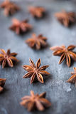Star anise - shallow dof Royalty Free Stock Photos