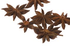 Star Anise Spice Isolated Royalty Free Stock Images