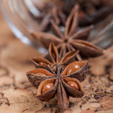 star anise. On the table Stock Photo