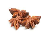 Star anise  on a white background Stock Photography
