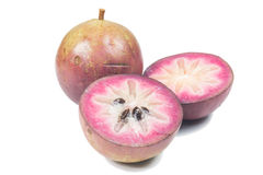 Star apple or cainito Royalty Free Stock Photography