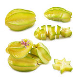 Star apple isolated Stock Image