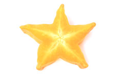 Star apple. On white background Royalty Free Stock Photography