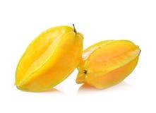 Star apple on white background Stock Image