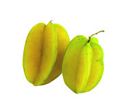 Star apple. With white on background stock photography
