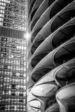 Star architecture - Chicago BW Royalty Free Stock Images