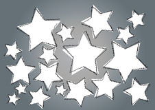 Star art background Stock Photography