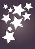 Star art background Royalty Free Stock Photo