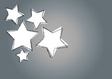 Star art background Royalty Free Stock Images