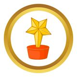 Star award vector icon Stock Photos