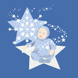 Star Baby Boy Stock Photos