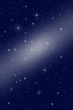 Star Backbround. Abstract space background with stars Stock Image