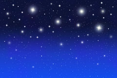 Star Backbround. Abstract space background with stars Stock Images