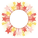 Star Background. An illustration of a starburst background Stock Photo