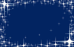 Star background. Star blue background for best use your greeting card Royalty Free Stock Photo
