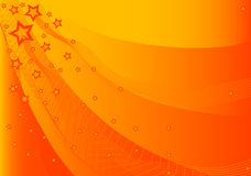 Star background. Vector - abstract fire star background Royalty Free Stock Image