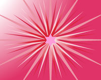 Star background. Vector illustartion of pink and red stars Royalty Free Stock Photo