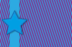 Star background. Colored star background candy style Royalty Free Stock Images