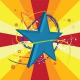 Star background design Stock Image
