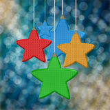 Star background design Stock Images