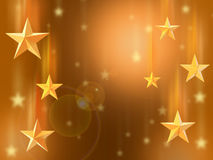 Star background. Royalty Free Stock Photography