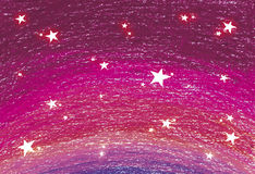Star background of pink color Stock Photo