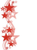 Star background. Red stars on white background Royalty Free Stock Photo