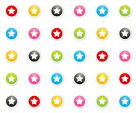 The star background Royalty Free Stock Photo