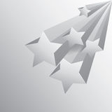Star background with shadow Stock Images