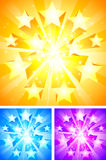 Star background. Stock Photos