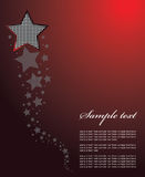 Star background vector Stock Photo