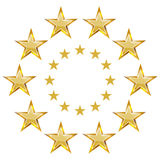Star Banner Icon Royalty Free Stock Image
