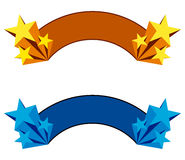 Star banner Royalty Free Stock Image
