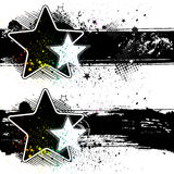 star banners Royalty Free Stock Photo