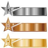 Star banners Stock Photo