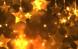 Star beautiful holiday background Royalty Free Stock Image