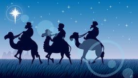 Star of Bethlehem stock video footage