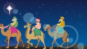 Star of Bethlehem 2 stock video