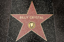 The star of Billy Crystal Royalty Free Stock Photography