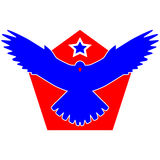 Star Bird Logo Stock Photography